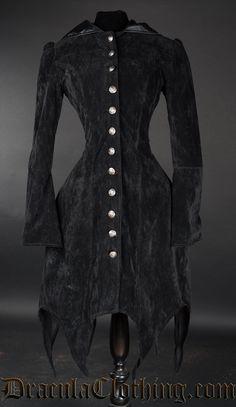 Velvet Witch Coat - Coats And Jackets - Ladies Clothing