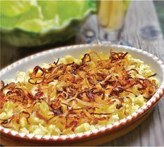 TastyBox mit Allgäuer Kässpatzen. Nach original Rezept von TastyBox Gründer Sammy!  http://tastybox.de/menu