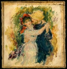 Pierre-Auguste Renoir, 'Sketch After Danse À Bougival,' , Indianapolis Museum of Art