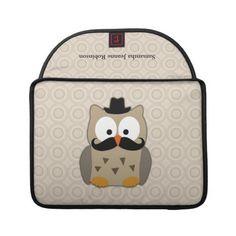 Mister owl Hibou moustachu !