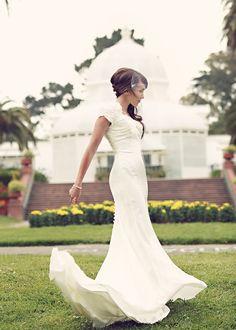 Sleek Beauty - Modest Wedding Dress