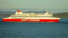 Devonport: Spirit of Tasmania passenger ferry arriving from Melbourne, Victoria. Article by Len Langan and photo by Dan Fellow for www.think-tasmania.com