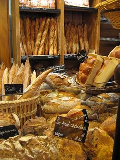 One of the best reasons to travel to France. They have a special flour they use and you can tell...bread does not taste like this anywhere else in the world!