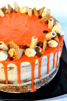 Bolo de Cenoura e Laranja    Carrot-Orange Cake ~ Sabores da Alma
