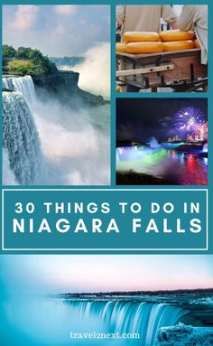 30 Incredible Things To Do In Niagara Falls. You can gaze at it, cruise up to it, walk behind it or zip past it while strapped into a harness. It doesn't matter how you choose to experience Niagara Falls, you'll soon see why it's is a natural wonder that deserves to be at the top of your bucket list. #niagarafalls #usa #canada #waterfall #travel #traveltips #thingstodo