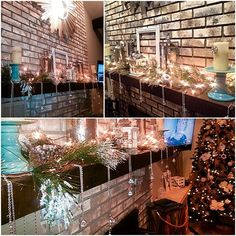 Christmas decorating 2015✨✨ #glam #christmas2015 #christmasdecor #mantel #xmas #decorate #homedecor #holidaydecor #holidays #holidayfun #home #family #christmastree #garland #christmas #aleeinteriordesign #designer #design #pittsburgh #interiordesign #christmastime