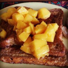 mango on french toast