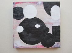 Original abstract 6x6 painting by KSteele by DesignduMonde on Etsy, $25.00