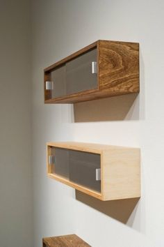 """Small Space Solution: Wall Mounted Landing Strips ~ Available in 24, 36, and 48 inches long (36"""" Shown) 9.5"""" deep x 9.5"""" tall. The body is painted with General Finishes Snow White milk paint but can be custom painted in any color they offer."""