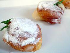 Receta de buñuelos rellenos de crema pastelera - El Aderezo - Blog de Recetas de Cocina