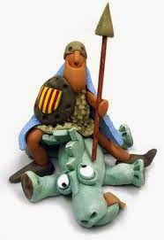 ÁNGELES Y BRUJ@S DESAMANCEBAD@S: Sant Jordi, dia de los enamorados.   San Jorge, Dí...