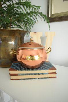 Copper Potpourri Holder Copper Incense Holder Copper