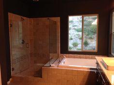 Shower in master bath