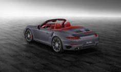 Porsche Exclusive afdeling neemt 991 Turbo S Cabriolet onder handen