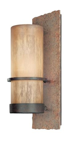 Troy-CSL Lighting B1851BB Bamboo 1 Light 14 inch Bamboo Bronze Outdoor Wall in Incandescent