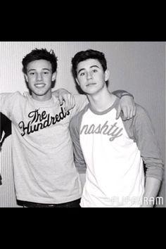 Nash and Cameron!!! adorable. #nashnotice