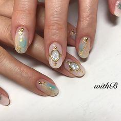 いいね!26件、コメント1件 ― nailsalon  withB  nailistさん(@nail_miyuki_n)のInstagramアカウント: 「#withb #池尻大橋 #池尻大橋ネイルサロン #駒場東大前 #三宿 #gelnails #nail#nails#naildesign#art #fashion…」