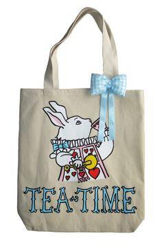 discount coach designer bags 5s1r  White Rabbit Tea Time Tote Click through for Etsy page