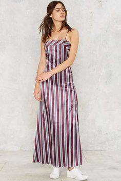 Sleek Revenge Satin Maxi Dress | Shop Clothes at Nasty Gal!