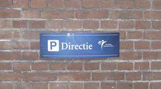 #parkeerbord, geschikt voor wandmontage