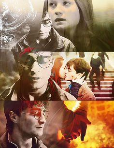…andHarry thought inexplicably of Ginny, and her blazing look, and the feel of her lips onhis...