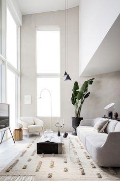 Wooden Partitions, Wooden Panelling, Oak Dining Table, Scandinavian Living, Scandinavian Design, Nordic Design, Nordic Style, Joanna Gaines, Interior Inspiration