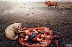 Chinese painting by Li Zijian