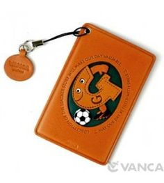 Soccer-G Leather Commuter Pass/Passcard Holders