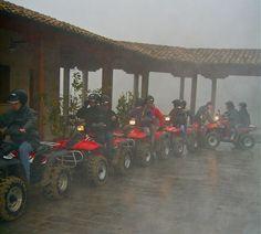 Quad race...under the rain