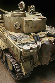 Tamiya Model Kits, Tamiya Models, Plastic Model Kits, Plastic Models, Tiger Ii, Tiger Tank, Modeling Techniques, Model Hobbies, Model Tanks