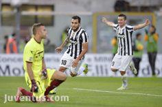 Livorno vs Juventus - Serie A - esultanza Tevez