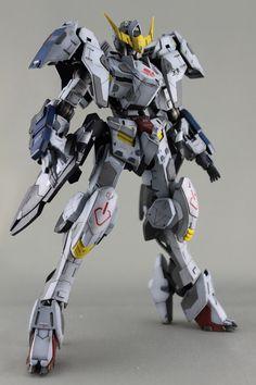 Custom Build: 1/100 Gundam Barbatos 6th Form [Detailed] - Gundam Kits Collection News and Reviews