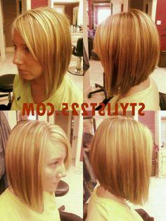 inverted bob hairstyles 2014 back view | bob hairstyles | Medium Layered Bob Haircuts 2012 ...