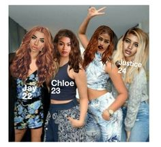 """""""Me and My Sisters  {Don't Save Items Please}"""" by hazel-e ❤ liked on Polyvore"""