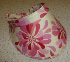 Quilting Buttercup: How to make a sun visor