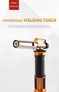 Electronic Ignition Liquefied Gas Welding Gun Torch Kit™ with Hose Welding Gun, Welding Torch, Welding Rods, Metal Welding, Metal Working Tools, Metal Tools, Wood Tools, Nifty Science, Propane Forge