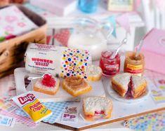 5pcs Dessert 3D Resin Cartoon Bears Cream Cakes Miniatures food Dollhouse LE