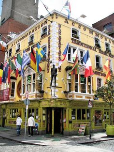 Temple Bar is an area on the south bank of the River Liffey in central Dublin, Ireland.