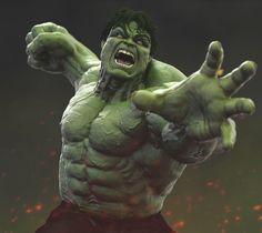 Hulk Avengers, Marvel Heroes, Marvel Avengers, Marvel Comics, Comic Book Characters, Marvel Characters, Hulk Tattoo, Comic Art Fans, Hulk Art