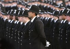 British Police Officer - they do a hard job well.