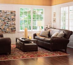 Fanciful leather couch living room idea brilliant sofa design for with home planning repair cleaner cover Red Sofa Living Room, Leather Sofa Living Room, Couches Living Room, Leather Couches Living Room, Brown Living Room, Trendy Living Rooms, Grey Walls Living Room, Living Room Sofa Design, Sofa Design