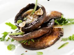 Receta de Portobellos Marinados en Vinagreta | Estos hongos los puedes usar para guarnición o como una rica botana.