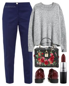 """Без названия #1548"" by sabina-127 on Polyvore featuring мода, Ted Baker, Dolce&Gabbana, Boohoo и MAC Cosmetics"