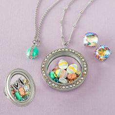 Origami Owl Custom Jewelry -newly released limited edition Easter collection! #easter #jewelry