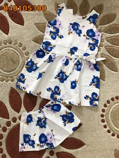 Set đồ vải siu mỹ quần đùi hoa Rompers, Dresses, Fashion, Vestidos, Moda, Fashion Styles, Blanket Sleeper, Romper Suit, The Dress