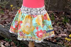 Cute little girl's skirt