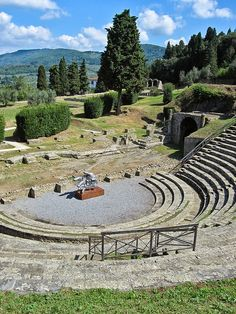 anfiteatro di Fiesole, province of Florence , Tuscany Italy