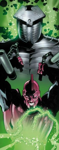 Destroyer and High Evolutionary by Scot Eaton