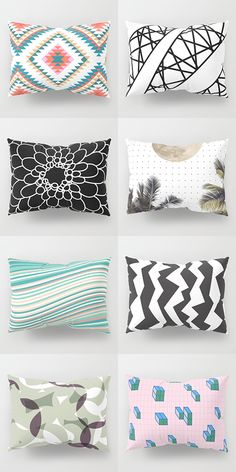 Shop Pillow Shams by Bitart on Stylish modern designs on high quality products. Buy Pillows, Throw Pillows, Floor Pillows, Uo Home, Small Home Offices, Nordic Home, Scandinavian Bedroom, Decorative Throws, Bohemian Decor
