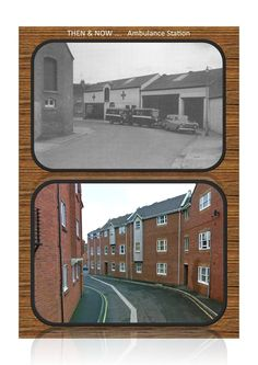Ambulance Station Past & Present.